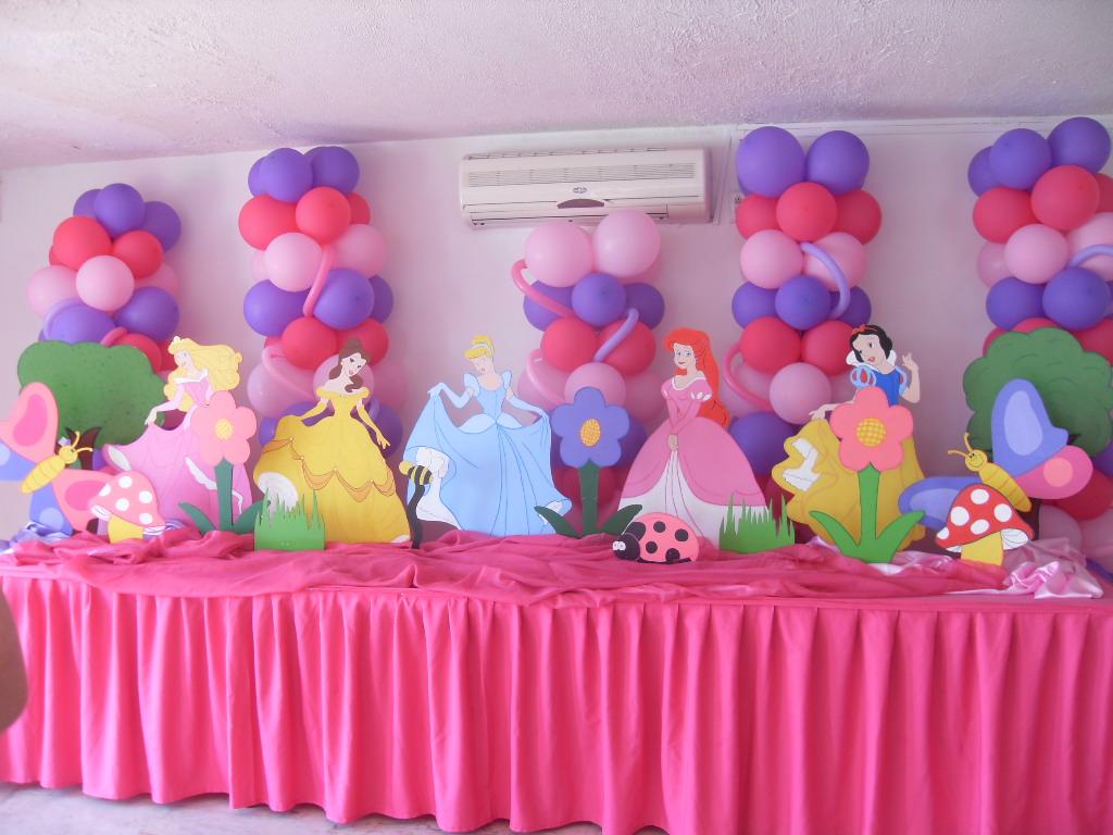 Las princesas disney creaciones roses - Decoracion fiesta princesas disney ...